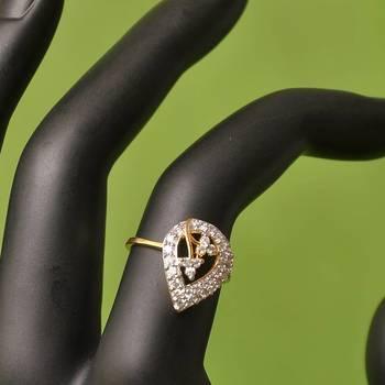 American Diamond Ring By Swarajshop
