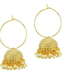Buy Ethnic Indian Bollywood Fashion Jewelry Set Hoop Jhumki Earrings hoop online