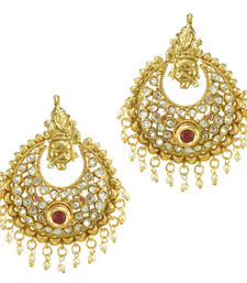 Buy Ethnic Indian Bollywood Fashion Jewelry Set Traditional Dangler Earrings danglers-drop online
