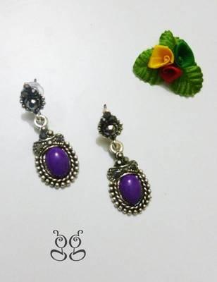 Fashion Earring - Purple