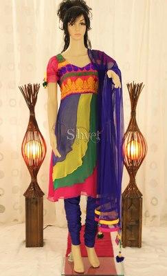 Multicoloured Suit
