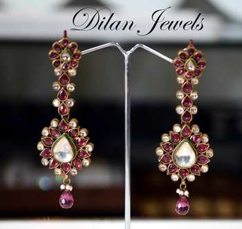 Kundan Longevity Dangle