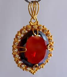 Buy Garnet stone pendant Pendant online