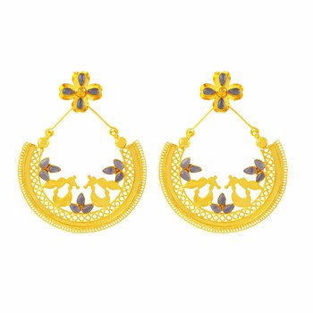 Ethnic Chandbali Earring