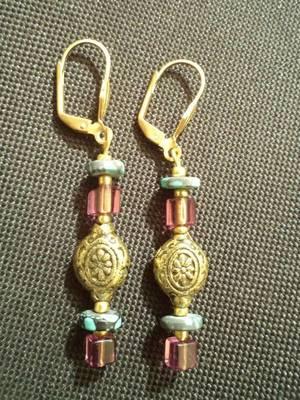 Wine Earrings-Aliff Lailaa-04078
