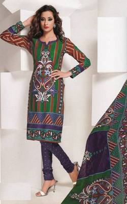 Dress material cotton designer prints unstitched salwar kameez suit d.no 1826