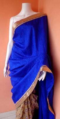 Tussar Blue