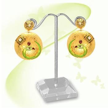Gold Fashion Earring 7645