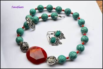 Designer Turquoise Dream Lady