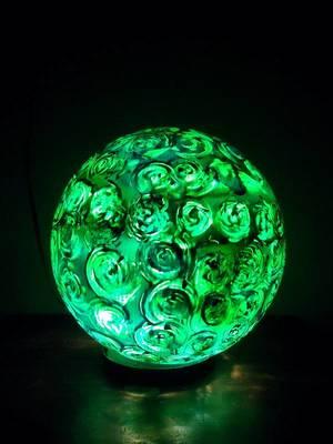 Kiwi swirl-Lollipop Table lamps