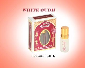 AL NUAIM WHITE OUDH 3ML ROLL ON