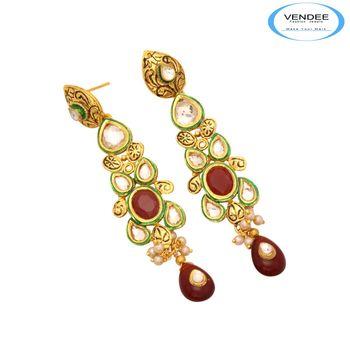 Vendee Ethnic Earrings 7395