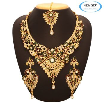 Vendee Attractive Wedding Necklace 7651