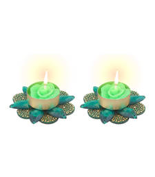 Buy Diya Candle in Dual Colour candle online