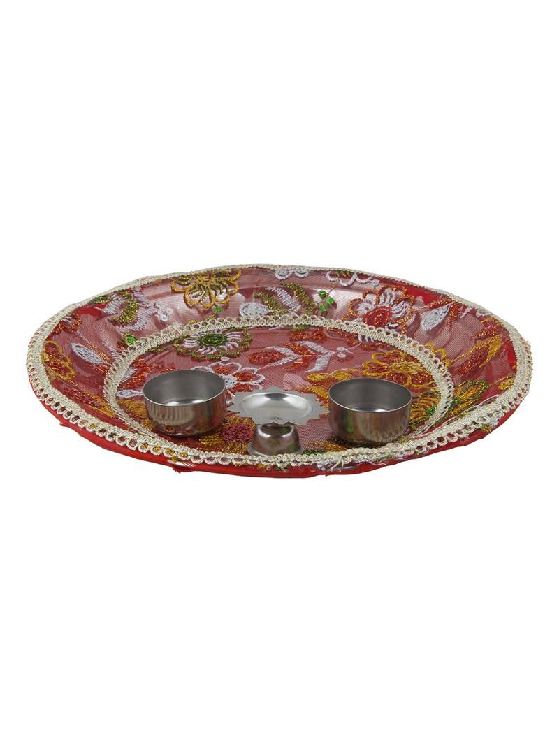 Buy best selling designer pooja thali set online 4 selling design