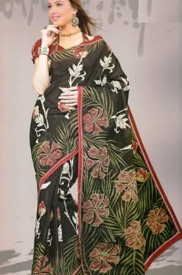 Sarees Mal Mal Cotton Designer Prints With Blouse Piece D.No D1018