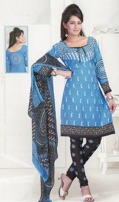 Dress Material Crepe Designer Prints Unstitched Salwar Kameez Suit D.No SJ1207