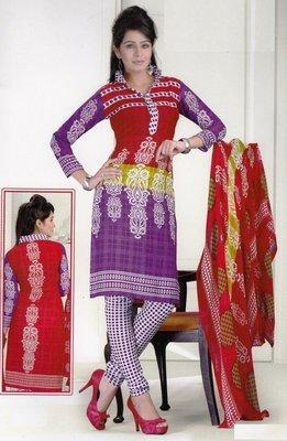 Dress Material Crepe Designer Prints Unstitched Salwar Kameez Suit D.No SJ1210