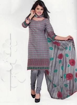 Cotton Dress Material Elegant Designer Unstitched Salwar Suit D.No 3521