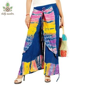 New Latest Designer Beautiful Ethnic Rayon Crepe Harem Pants (Women) Harem Legging Salwar Pants