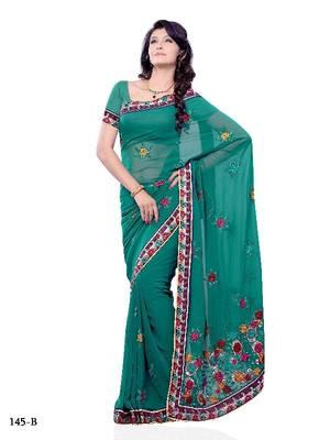 Circean Festival/Party Wear Designer Saree by DIVA FASHION- Surat