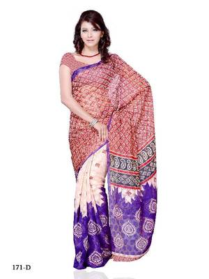 Enchanting Festival/Party Wear Designer Saree by DIVA FASHION- Surat