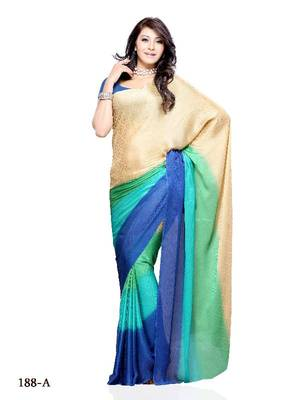 Catchy Casual/partywear saree by DIVA FASHION- Surat