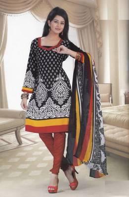 Dress Material Crepe Designer Printed Unstitched Salwar Kameez suit d.no 13016