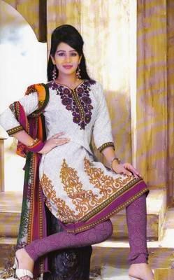 Dress Material Crepe Designer Printed Unstitched Salwar Kameez suit D.No. Z3013