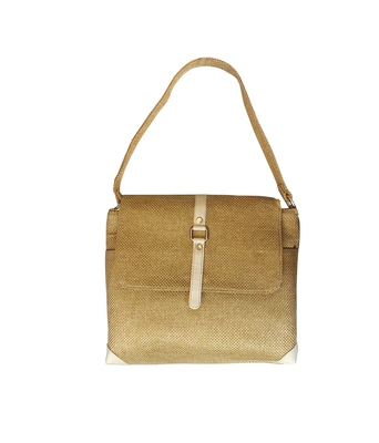 Officio Jute Handbag (Gold 1)