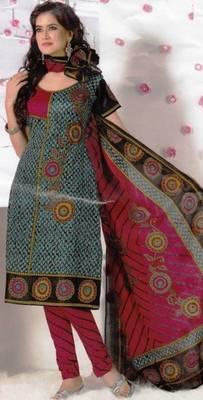 Elegant Dress Material Cotton Designer Prints Unstitched Salwar Kameez Suit D.No BN7033