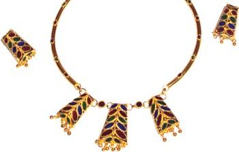 Handmade Indian Assamese Jewellery Dhansira