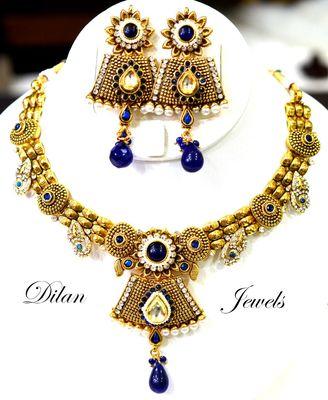 Blue Elegant Necklace