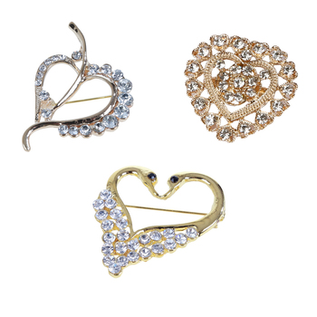 fashionable brooches