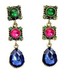 Buy Multicolored Danglers Earring danglers-drop online