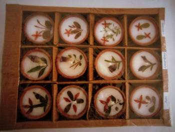 Aroma diyas and candle 12X1 (L)