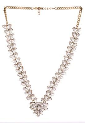 Stud Encrypt Shine On Necklace