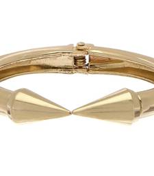 Buy Gold Glam Spike Cuff Bracelet online