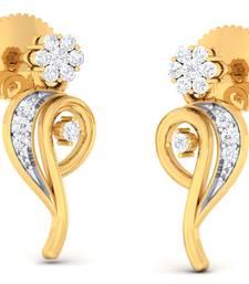 Buy Sterling Silver Aarati Earrin stud online