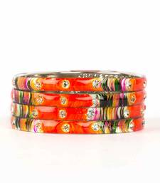 Buy Orange bangles-and-bracelets fashion-deal online