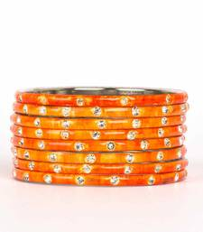 Buy Orange bangles-and-bracelets bangles-and-bracelet online