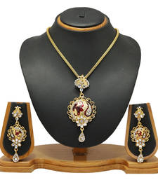 Buy Jewellery Royal Designer Pendant Set Jewellery Pendant online