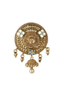 Decorative diamond studded brooch