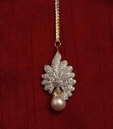 Buy Multicolor american diamonds maang-tikka maang-tikka online