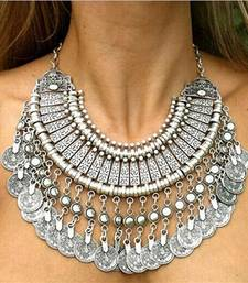 Buy The Gypsy Ethnic Coin Necklace Necklace online