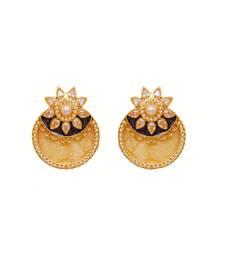 Buy Yellow stone earring Earring online