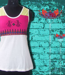 Buy dancing doll sleeveless top  sleeveless-top online