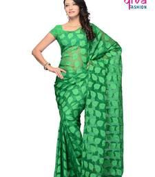 Buy Foliaceous Casual wear fancy saree by DIVA FASHION-Surat art-silk-saree online