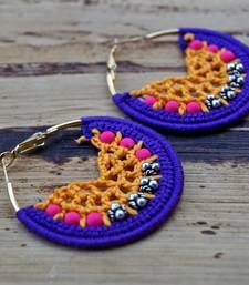 Buy color carnival crochet hoops hoop online