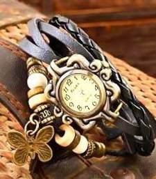 Buy Brown leather watches for women watch online